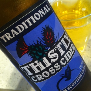 Traditional Thistly Cross Cider